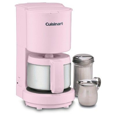 Cuisinart 4 Cup Coffee Maker - Pink Dcc-450PK, Doll Pink