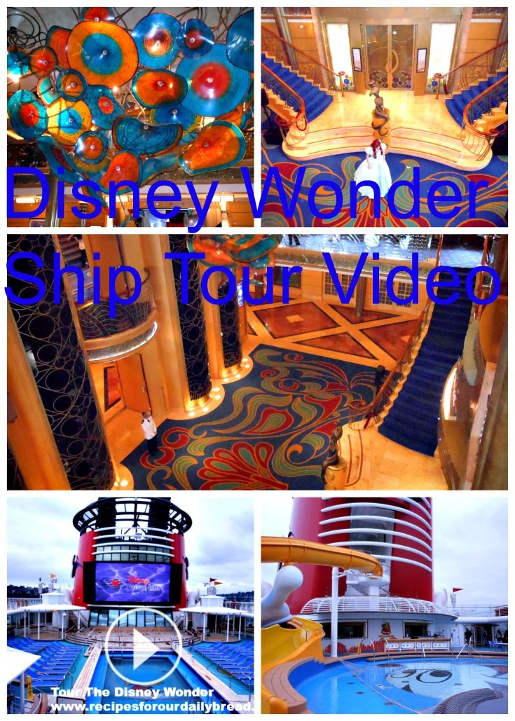 Disney Wonder Videos & Ports - If you need information on the Disney Wonder Cruise ship or Alaska Ports, this post is for you.  http://recipesforourdailybread.com/2014/03/15/disney-wonder-alaska-ports-tips/   #disney #cruise