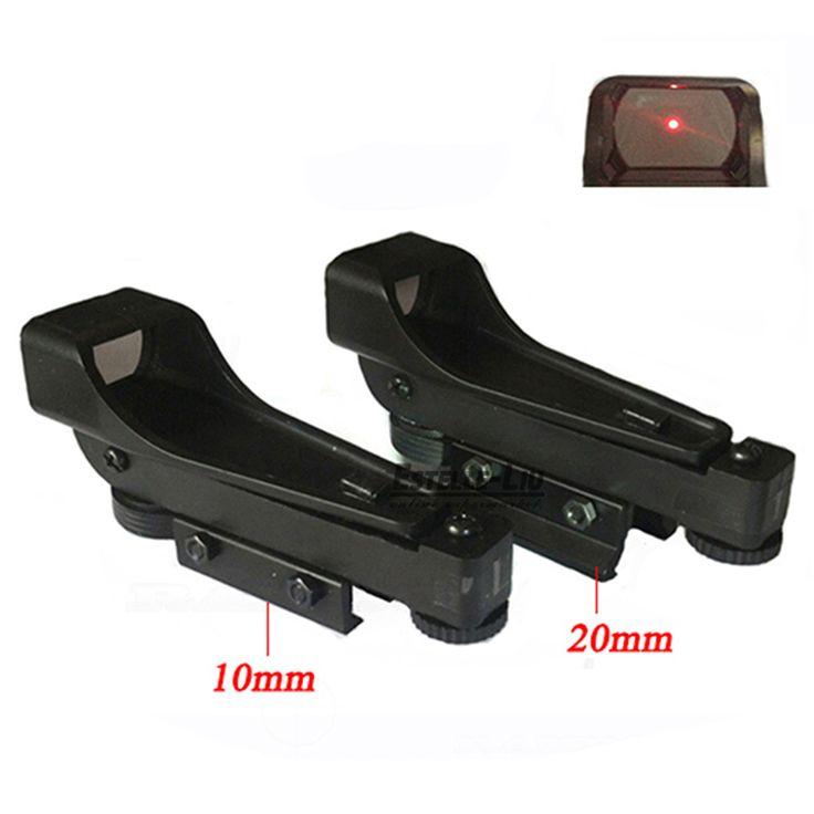 Reflex sight Tactical Red Dot Sight Alcance de Visión Amplio Rifle de Aire 10/20mm Carril Del Tejedor Mounts1x20x30 Telescópica Airsoft