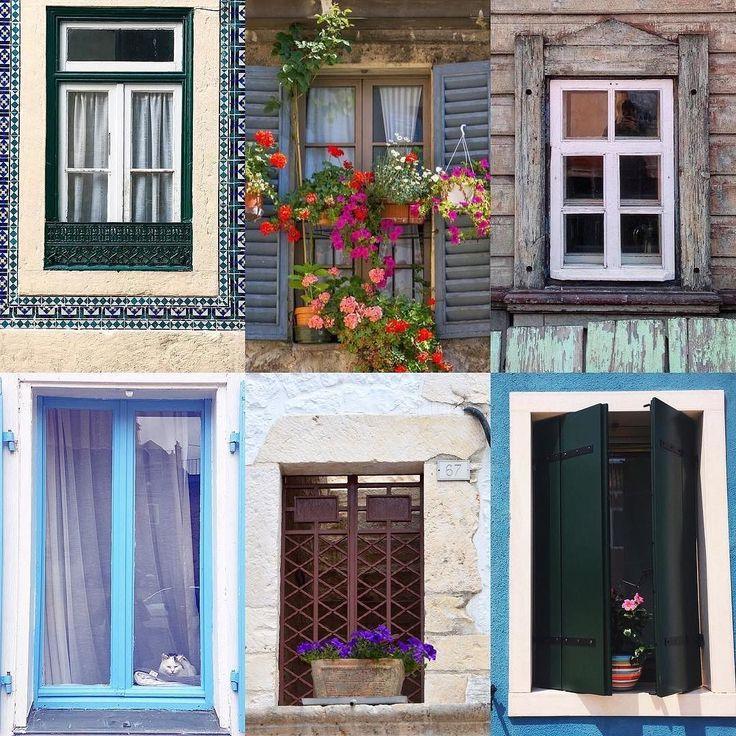 Windows by:  R1C1: @beatrice_livi89 R1C2: @luluol07 R2C1: @adrianaamello R2C2: @lovepositano R3C1: @skoromart R3C2: @saltandbitters  Congratulations!  Tag #windowsanddoorsoftheworld to be featured!