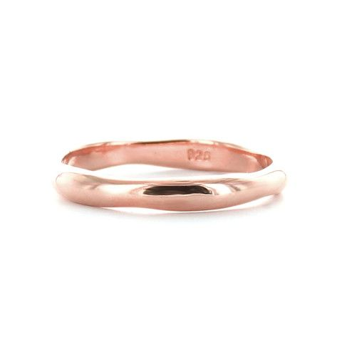 POISE STACKING RING & PENDANT ROSE GOLD – So Pretty Cara Cotter