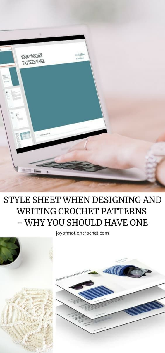 Style Sheet When Designing And Writing Crochet Patterns Stuffy