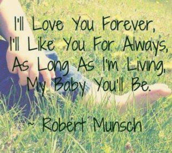 Robert Munsch love you forever