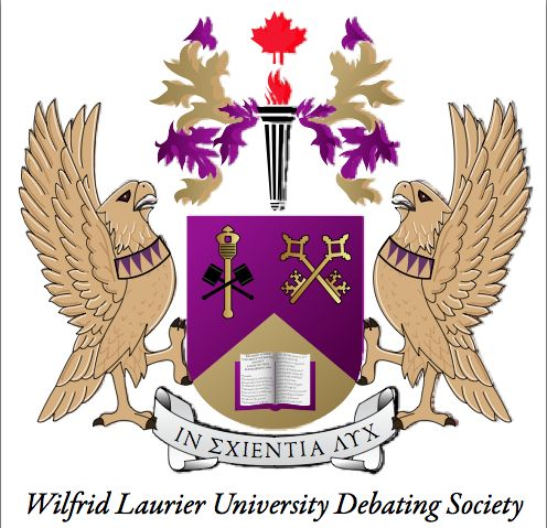 WLU DEBATING SOCIETY - The WLU Debating Society is Laurier's debate club. Debating is an excellent skill to learn; it is among the most effective ways to improve your public speaking, critical thinking abilities, and it's also a ton of fun!