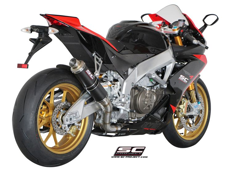 APRILIA RSV4 FACTORY | R | APRC '09-14 EXHAUST BY SC-PROJECT