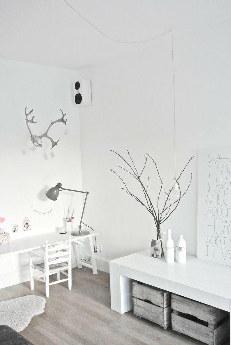 Kinderhoekje in de woonkamer. Lekker Fris: DIY lamp van snoerboer.nl