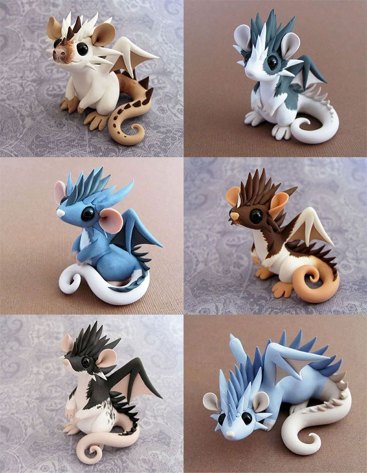 Omg they're adorable! Making them in polymer clay or air drying clay and then paint it ^-^
