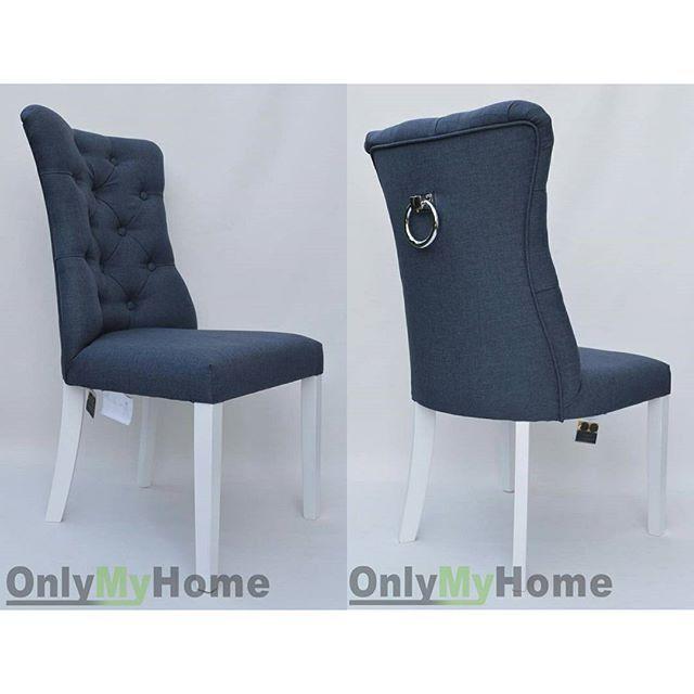 Śliczne krzesełko Ashley z kołatką z tyłu oparcia w wybranej przez Państwa tkaninie oraz wybarwieniu drewna można zakupić w naszym sklepie internetowym http://onlymyhome.com/krzesla/9-krzeslo-ashley-1.html Zapraszamy 😊 ________________________________ #Krzesło #Ashley #stylowe #wygodne #dorestauracji #design #inspiration #house #getinspired #modern #interior #modnewnetrza #stylowewnetrza #pikowanie #chesterfield #Fotel #pufa #nazamowienie @onlymyhome.pl #onlymyhome