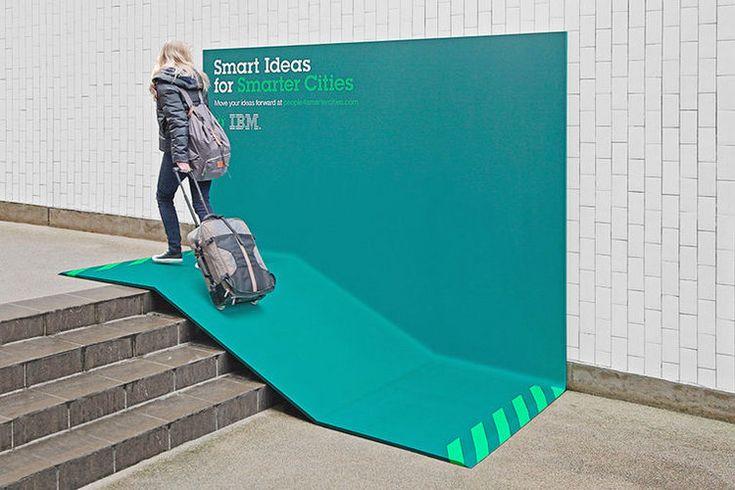 IBM People for Smarter Cities billboard