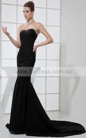 Sweetheart Floor-length Chiffon Natural Zipper Evening Dresses gt0286--Hodress