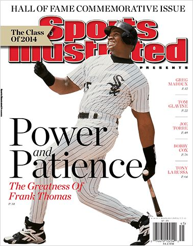 Frank Thomas Graces Commemorative Sports Illustrated Cover
