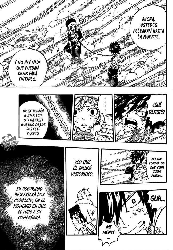Fairy Tail Capítulo 498 página 19 - Leer Manga en Español gratis en NineManga.com