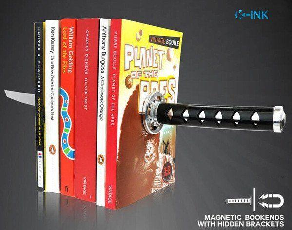 Creative Katana Sword Bookends