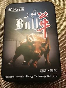 The Bull Male Enhancement /erection /stamina Pills  1 Tin 30 Pills  | eBay