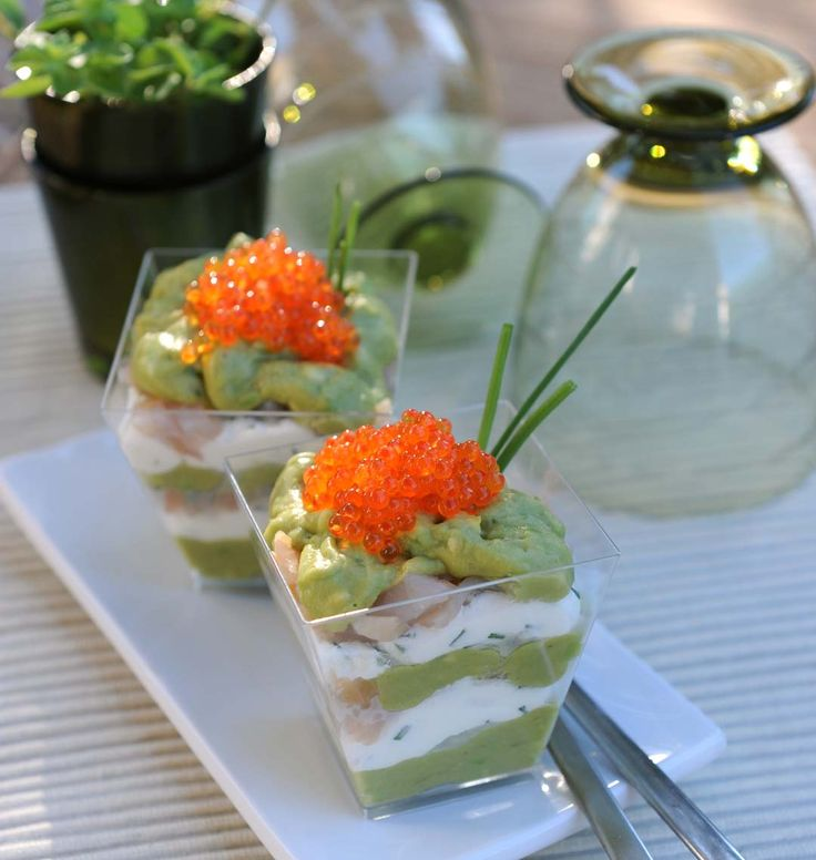 Recettes verrines hors d 39 oeuvre for Idees entrees froides rapides