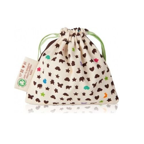 It's handy to have a clean place to store teething toys in the diaper bag. Hevea Storage Bag by Hevea Baby at BabyEarth.com, $5.95