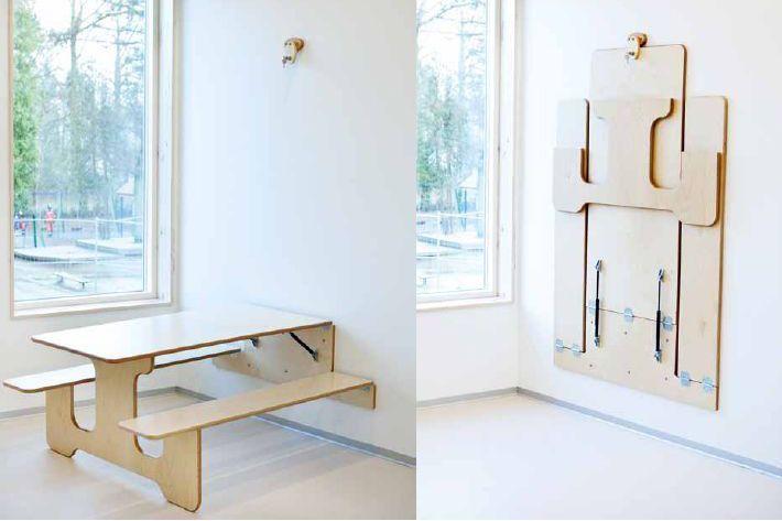die besten 25 klapptisch ideen auf pinterest smart m bel bild tabelle und platzsparende m bel. Black Bedroom Furniture Sets. Home Design Ideas