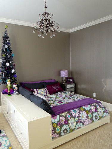Preteen Glam Bedroom - modern - kids - charlotte - by Whirlygig Designs
