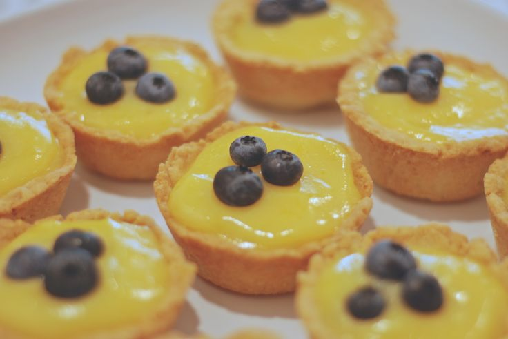 citronové tartaletky