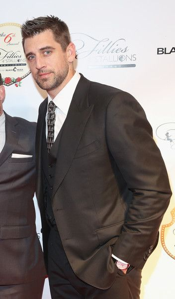 Aaron Rodgers Photos - Aaron Rodgers attends The 6th Annual Fillies & Stallions Kentucky Derby party, hosted by Black Rock Thoroughbreds, along with Tito's Vodka, Jack Daniels and Red Bull on May 06, 2016 in Louisville, Kentucky. - The 6th Annual Fillies & Stallions Kentucky Derby Party