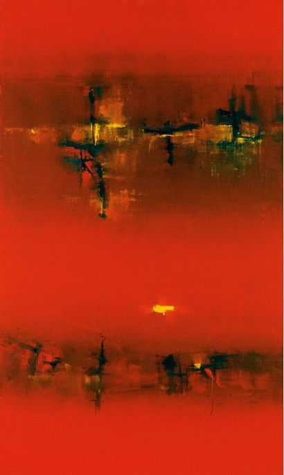 Vasudeo Gaitonde an artist i admire. He is India's foremost abstract artist.