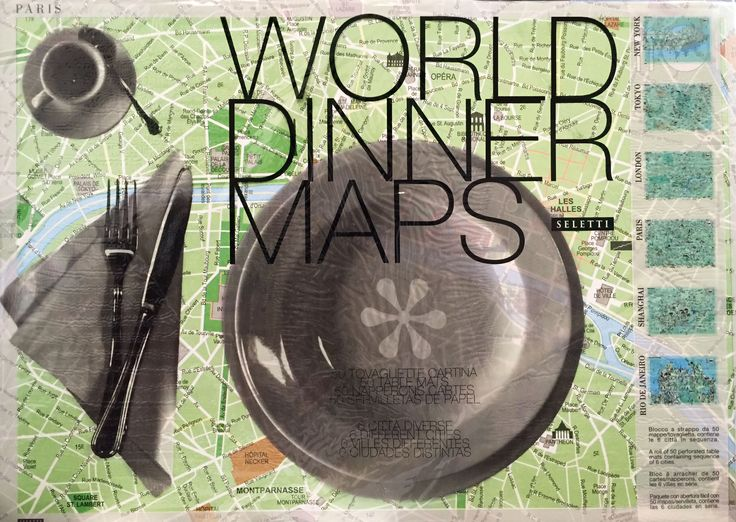 18 best seletti images on pinterest dishes dinner plates and world dinner maps by seletti gumiabroncs Gallery