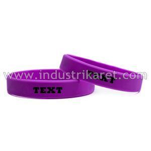 Gelang Karet | Rubber Wristband