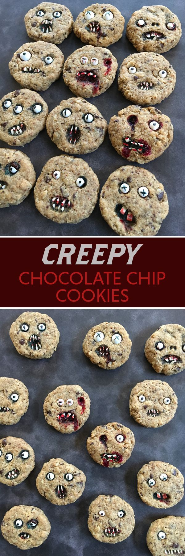 Creep out your friends with these cookies at your Halloween party! (Halloween Bake Championship)