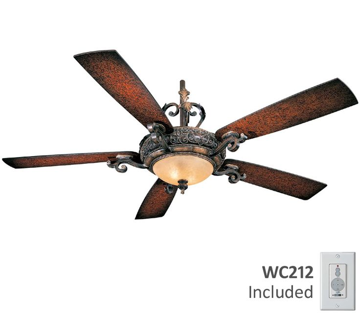 Antique Style Ceiling Fan Part - 18: The Minka Aire Napoli Ceiling Fan Design Was Inspired By The Charmed,  Sun-dappled Land Of Tuscany. A Minka Aire Ceiling Fan Design. Style # 96042  At Lamps ...