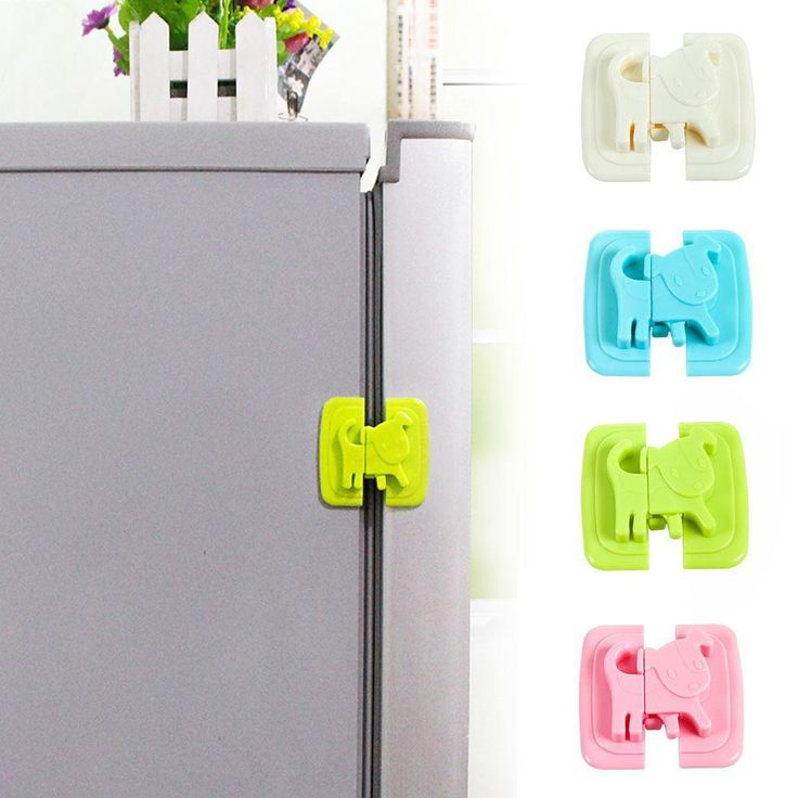 1pc Cartoon Puppy Shape Multifunctional Baby Safety Refrigerator Lock Pinch Hand Safety Lock closet wardrobe safty locks s2