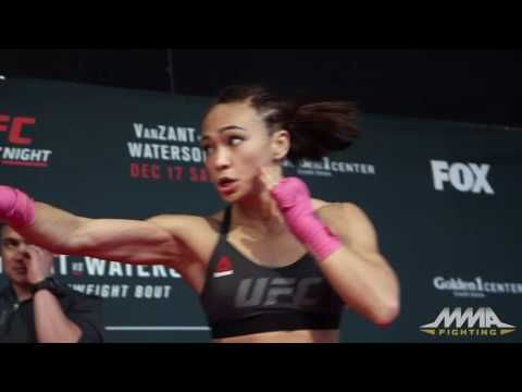 MMA Michelle Waterson UFC on FOX 22 Open Workout (Complete)