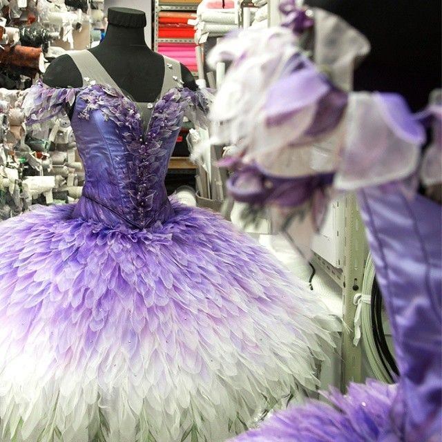 Here's a special sneak peek of the magical tutu to be worn by the Lilac Fairy in The Sleeping Beauty ... Created by the acclaimed Gabriela Tylesova and inspired by the trumpet shape of a lilac petal. For more divine details, head to Behind Ballet Kate Longley