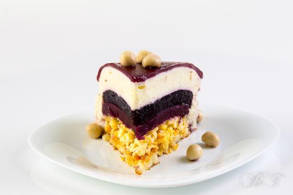 Чернично-муссовый торт (День рожденный)