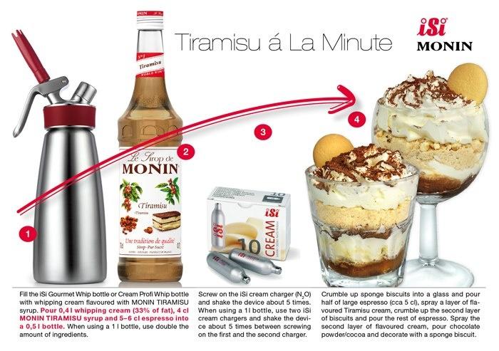 From Monin and Isi and Tiramisu. http://www.katom.com/cat/grid/isi-cream-whipper.1.html