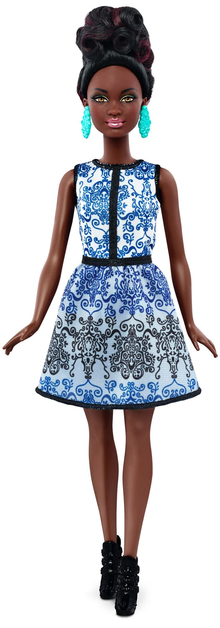 Find great deals on ebay for barbie hair extensions doll barbie light - Buy Barbie Fashionistas Doll 25 Blue Brocade Petite At Yoyo