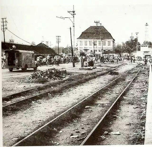 Het Spookhuis van Soerabaja rond 1950