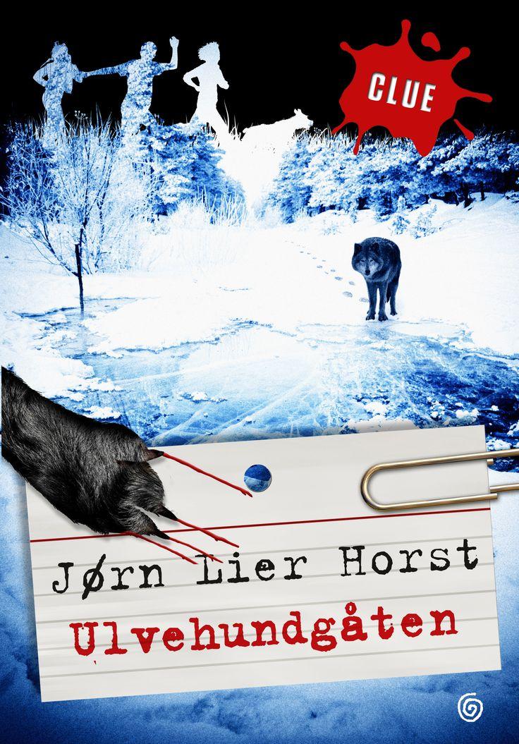 Ulvehundgåten av Jørn Lier Horst. Utkommer på Kagge forlag. Foton: Shutterstock.