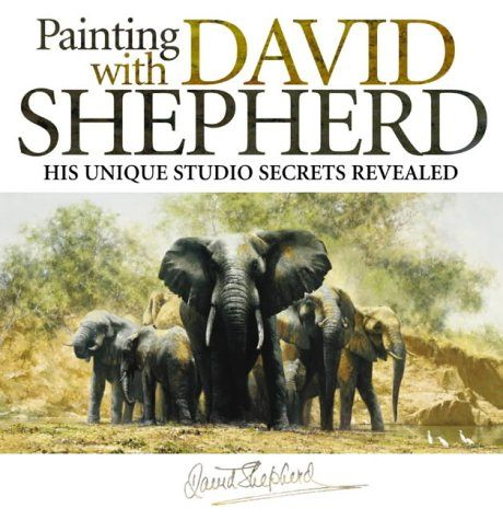 David Shepherd is a British artist and one of the world's most outspoken conservationists. He is most famous for his paintings of wildlife, although he also often paints steam railways, aircraft and landscapes.