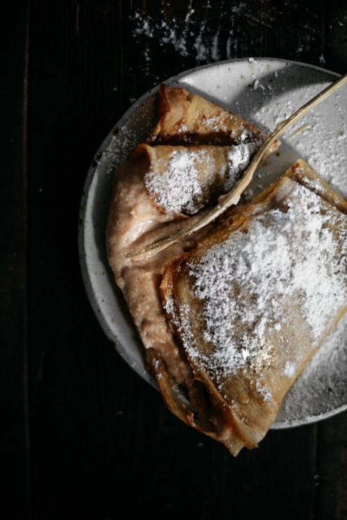 BROWN BUTTER RYE CRÊPES WITH WHIPPED CHESTNUT CRÉMEReally nice  Mein Blog: Alles rund um die Themen Genuss & Geschmack  Kochen Backen Braten Vorspeisen Hauptgerichte und Desserts