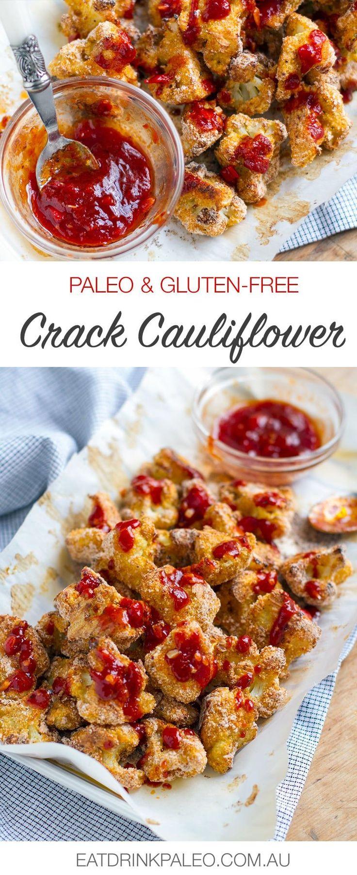 Crack Cauliflower With Fiery Red Sauce - Paleo & Gluten-Free Recipe