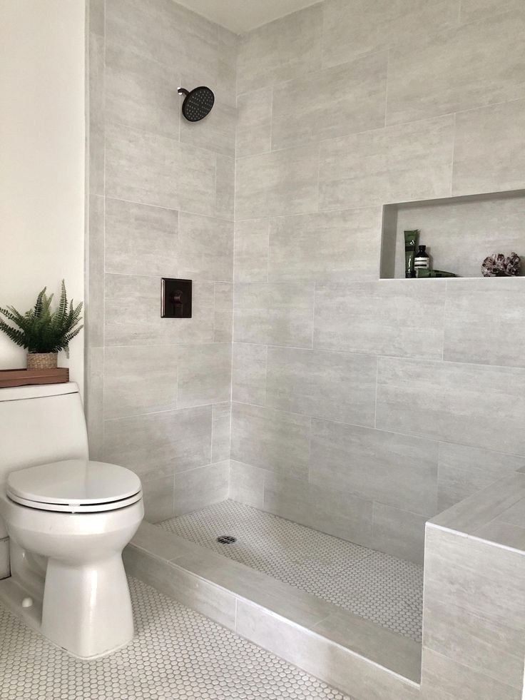 Small Bathroom Remodel Ideas Grey And White In 2020 Small Bathroom Master Bathroom Shower Bathroom Remodel Shower