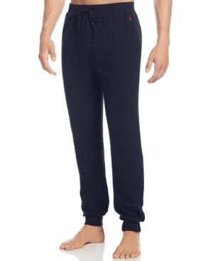 Polo Ralph Lauren Men's Loungewear, Thermal Jogger Pants - Cruise Navy S