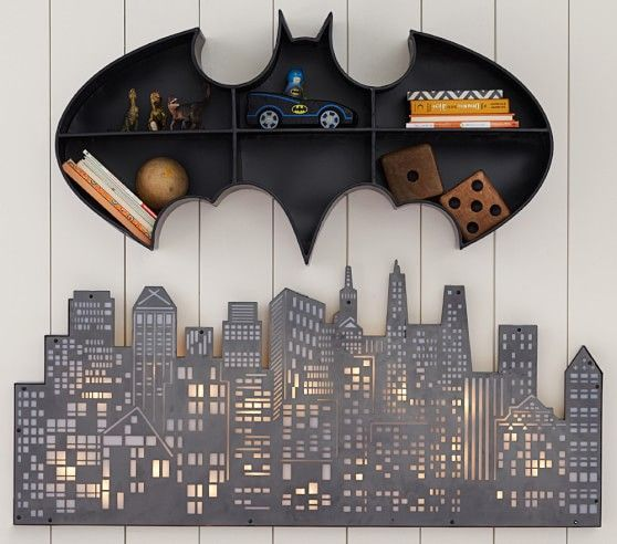 If your son is a true super heroe, this lighting design is perfect for his bedroom #lightdesign #kidsroom #boybedroom Find more inspirations at www.circu.net