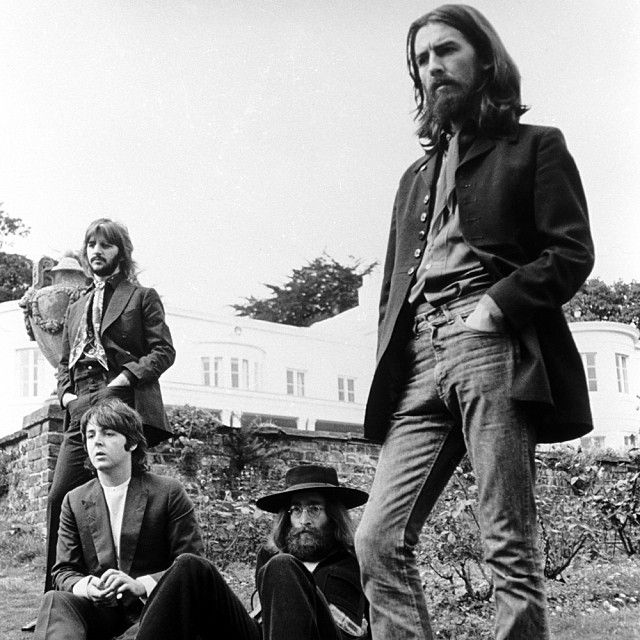 #BeatlesArchive Tittenhurst, 1969. 'The Last Photo Session'. You can see more images from that day, here: http://gnikn.us/1eXRYnr  Photo © Apple Corps Ltd.  #thebeatles #beatles #1969