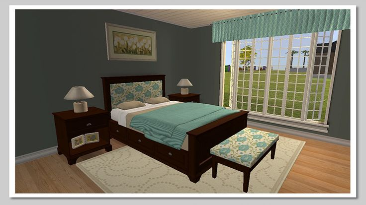 Mod The Sims Pottery Barn Cynthia Bedroom 2 Furniture Pinterest