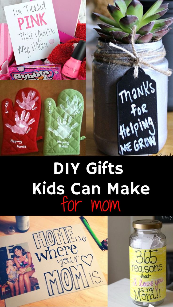 181 best diy gifts for mom images on pinterest birthday presents diy gifts for mom from kids solutioingenieria Choice Image