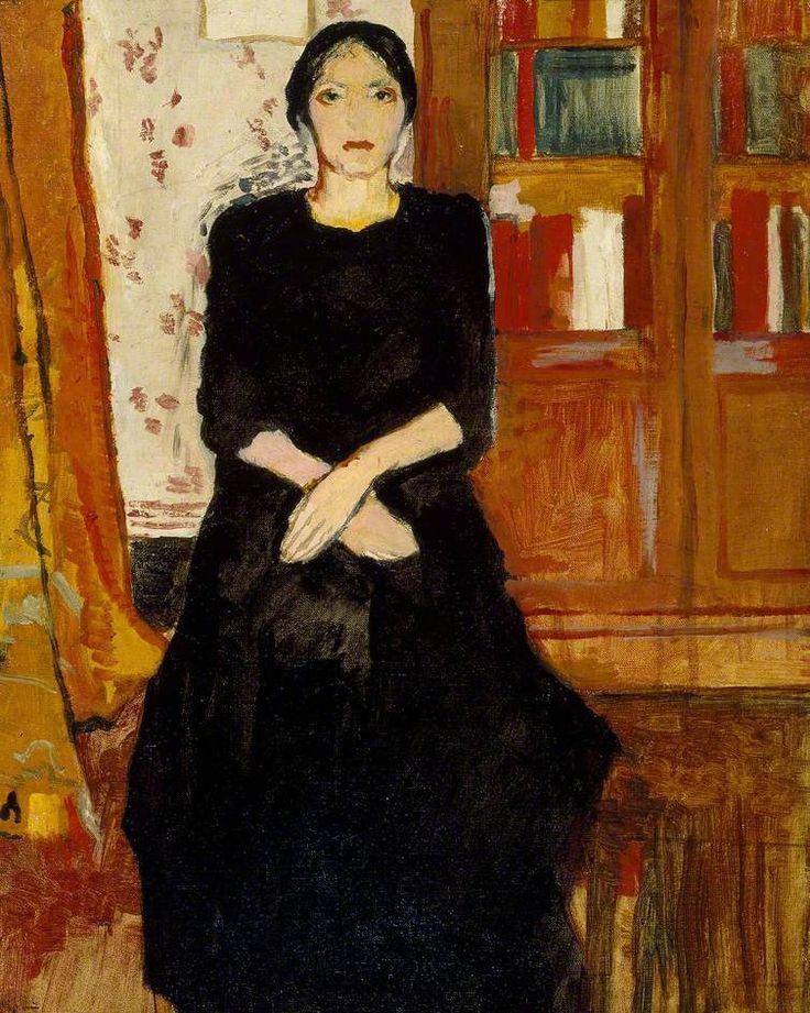 c. 1906, Marie Laurencin, The Artist's Mother, Asmolean Museum, UK