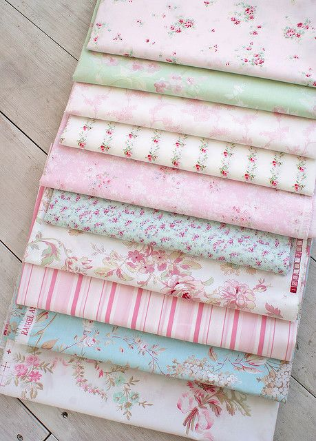 Rachel Ashwell - these prints are so girlie. perfect for a cozy happy pretty room.