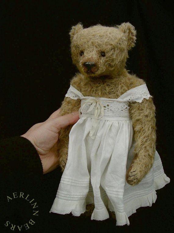 Florence One Of a Kind Mohair 12 1/4 Artist Teddy by aerlinnbears, $455.00