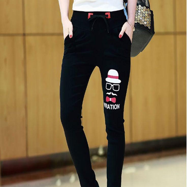 2016 Winter Haren Pants Waist Elastic Velvet Leggings Pencil Thin Black Pants Women Pants Winter Pants Women Puls Size